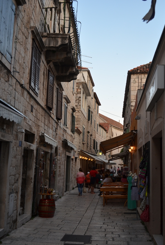 Old town in Omis