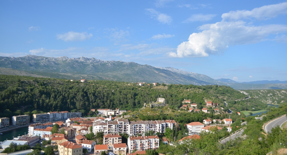 The lovely town of Obrovac